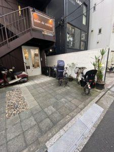 恵比寿店駐輪場