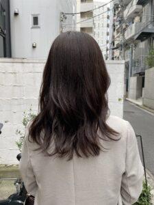 秋冬にもおすすめ暗髪フォギーベージュ☆